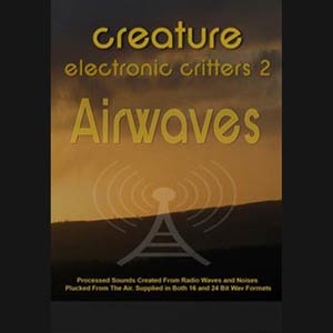 Electronic Critters : Airwaves, Free Loops, Free Sounds Library, Royalty Free Sounds, Free Sound Effects