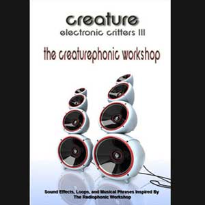 Electronic Critters : Creaturephonic Workshop, Free Loops, Free Sounds Library, Royalty Free Sounds, Free Sound Effects
