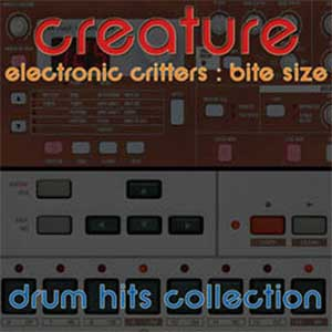 Electronic Critters Drum Hits Collection, Free Loops, Free Sounds Library, Royalty Free Sounds, Free Sound Effects