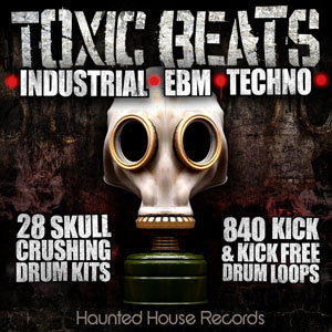 Toxic Beats : Industrial Drums Loop Library, Toxic Beats : Industrial Drums Loop Library | Industrial Drum Hits, Industrial Beats, Industrial Loops, EBM Drum Loops