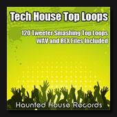 Loops library featuring kick free loops aimed at tech house and electro house.