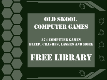 374 Retro Old Skool Computer Games Samples